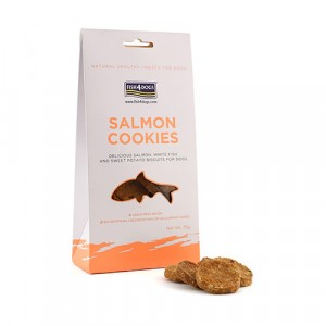 SALMON COOKIES FISH 4 DOGS