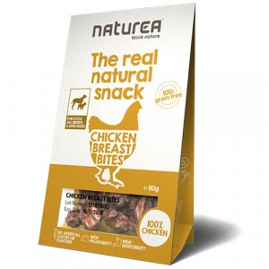 CHICKEN BREAST BITEN NATUREA