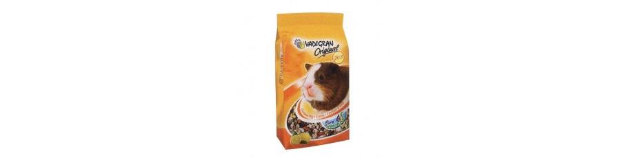 Comidas y snacks para roedores