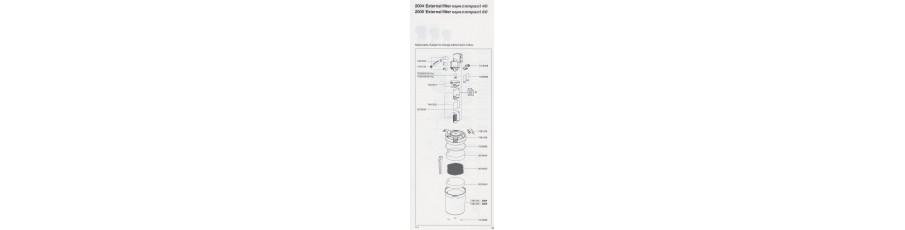 REPUESTOS EHEIM Filtros aquacompact